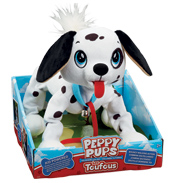 Dalmatian Pull Along Soft Toy