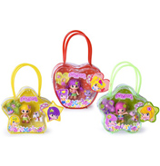 Pinypon Doll with Bag & Pet (ASSORTED)