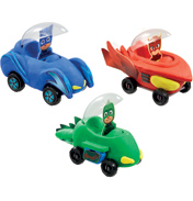Softeez PJ Masks Vehicle Maker Pack