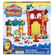 Play-Doh Town Firehouse Playset
