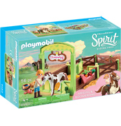 Dreamworks Spirit Riding Free: Abigail & Boomerang with Horse Stall