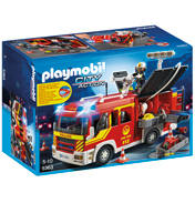 Playmobil Fire Engine with Lights & Sound