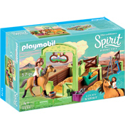 Dreamworks Spirit Riding Free: Lucky & Spirit with Horse Stall