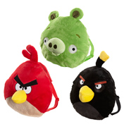 Angry Birds Plush Shaped Bag- Red Angry Bird