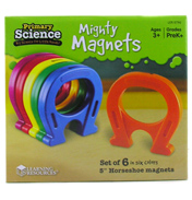 Primary Science Horseshoe-Shaped Magnets