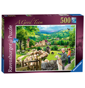 A Good Team 500 Piece Jigsaw Puzzle