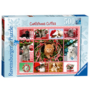 Christmas Cuties Jigsaw Puzzle (500 Piece)