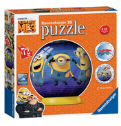 Despicable Me 3 3D Jigsaw Puzzle (72 Piece)
