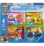 Paw Patrol 4 in a Box Jigsaw Puzzle