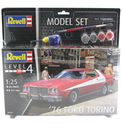 '76 Ford Torino Model Set (Level 4) (Scale 1:25)