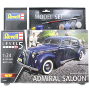 Admiral Saloon Model Set (Level 5) (Scale 1:24)