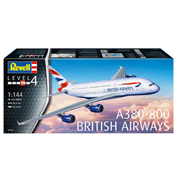 Airbus A380-800 British Airways Model Kit (Level 4) (Scale 1:144)