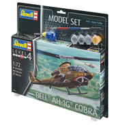 Bell AH-1G Cobra Model Set (Level 4) (Scale 1:72)