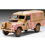 British 4x4 Off-Road Vehicle Series III (109/LWB) (Scale 1:35)