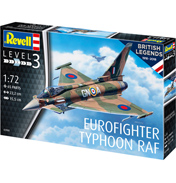 British Legends: Eurofighter Typhoon (Level 3) (Scale 1:72)