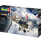 British Legends: British S.E.5a (Level 4) (Scale 1:48)