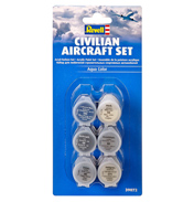 Civilian Aircraft Acrylic Paint Set