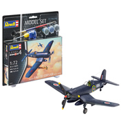 F4U-1B Corsair Royal Navy Model Set (Level 4) (Scale 1:72)