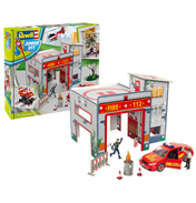 Fire Station Play Set (Level 1) (Scale 1:20)