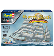 Gorch Fock 60th Anniversary Edition Model Kit (Level 4) (Scale 1:253)