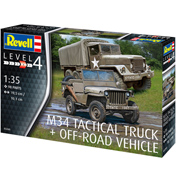 M34 Tactical Truck & Off Road Vehicle (Level 4) (Scale 1:35)