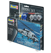 SH-60 Navy Model Set (Level 3) (Scale 1:100)