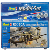 UH-60A Transport Helicopter (Scale 1:72)