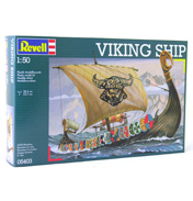 Revell Viking Ship Model Scale 1:50