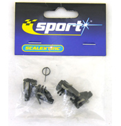 Scalextric Guide Blades & Spring Pack 4+1