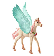 Bayala Decorated Unicorn Pegasus Foal Figure