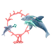 Bayala Dolphin Mum with Babies Figure Pack