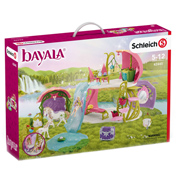Bayala Glittering Flower House with Unicorns, Lake and Stable Playset