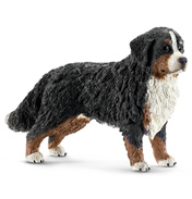Farm World Bernese Mountain Dog Female Figure