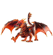Eldrador Creatures Lava Dragon Figure