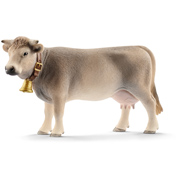 Farm World Braunvieh Cow Figure