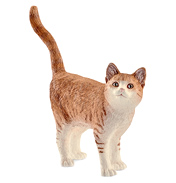 Farm World Cat Figure
