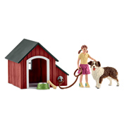 Farm World Dog Kennel Playset