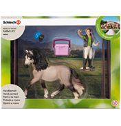 Horse Club Horse Care Set, Andalusian
