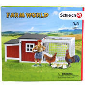 Schleich Farm World Chicken Coop 42191