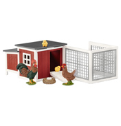 Farm World Chicken Coop Playset