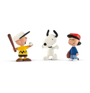 Peanuts Baseball Scenery Pack