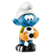 Smurfs Football Smurf Goalkeeper Figure