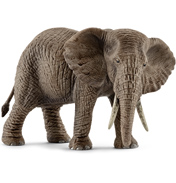 Wild Life African Elephant, Female Figure