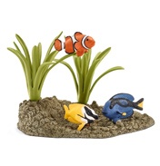 Wild Life Coral Fish Figure