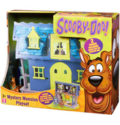 "Scooby Doo Mystery Mansion Playset with 5"" Action…"
