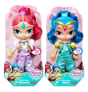 Shimmer & Shine Talking Large Soft Doll SHINE