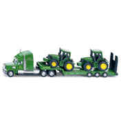 Siku Low Loader With John Deere Tractors (Scale…