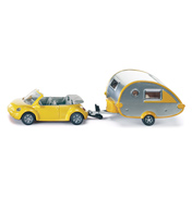 Siku Volkswagen Beetle With Caravan