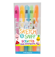 Scento Sketch & Sniff Scented Gel Crayons…