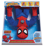 Marvel Spider-Man Swing & Sling Spidey Plush